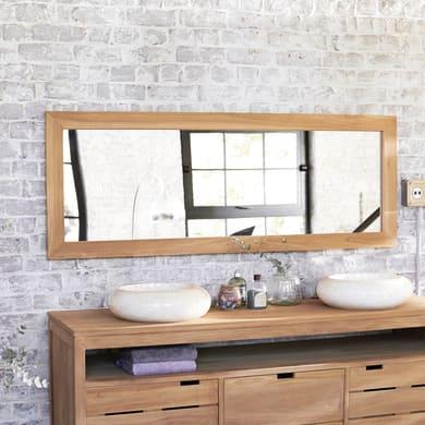 Specchio non luminoso bagno rettangolare Tona L 160 x H 60 cm TIKAMOON