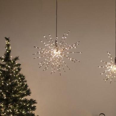 Sfera Twig Ball 240 lampadine bianco caldo H 40 cm