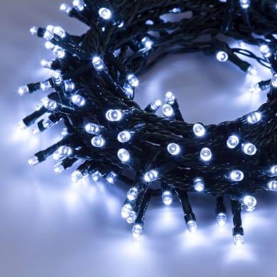 Catena luminosa 300 lampadine LED bianco 2 m