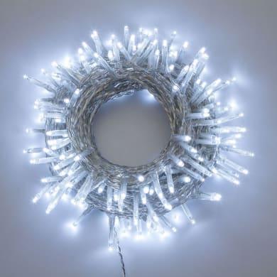 Catena luminosa 360 lampadine LED bianco freddo 4 m