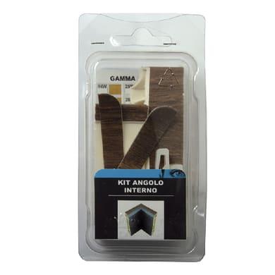 Angolare interno in kit kit angolo interno battiscopa 7011 rivestito 5 x 11 cm Sp 20 mm
