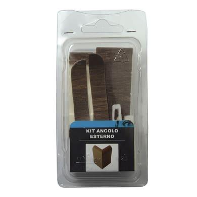 Angolare esterno in kit kit angolo esterno battiscopa 7011 rivestito 5 x 11 cm Sp 20 mm