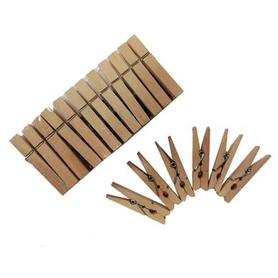Cornice mini mollettone legno per 1 fotografie 10 x 15  naturale
