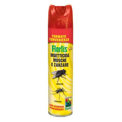 Insetticida spray per zanzare, calabroni FLORTIS 600