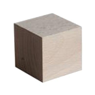 Sagoma decorativa cubo grezzo 90 x 90 x