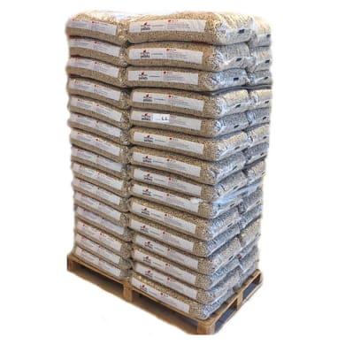 Pellet Eco Holz ENplus A1 70 sacchi da 15 kg in abete