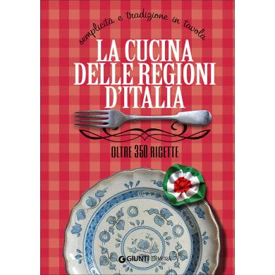 Libro La cucina delle regioni d'Italia Giunti Demetra