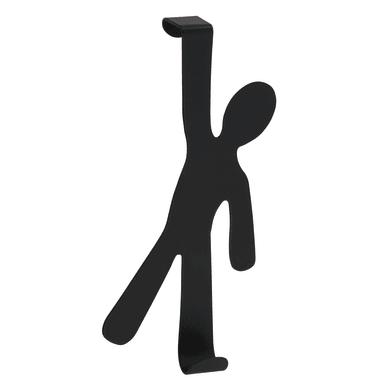 Gruccia Appendino Boy L 8 x H 15 cm nero