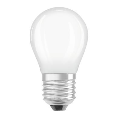 Lampadina LED filamento, E27, Sferico, Opaco, Luce calda, 2.5W=250LM (equiv 25 W), 300° , OSRAM
