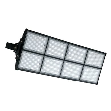 Proiettore LED integrato MASTER-960 in alluminio, nero, 960W 129600LM IP65