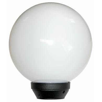 Lampada da giardino Globo in plastica, opale, E27 MAX100W IP43