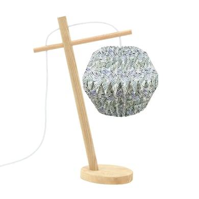 Comodino o soggiorno lampada Tippi verdi, in carta, E14 MAX 12W IP20 LUSSIOL