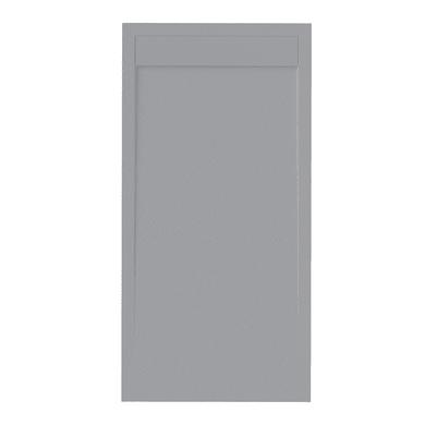Piatto doccia resina New York 90 x 70 cm grigio