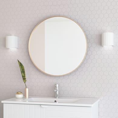 Specchio non luminoso bagno rotondo Kende Ø 60 cm RANDAL