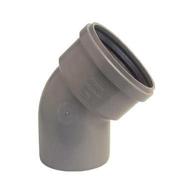 Raccordo 87 ° Ø 110 mm