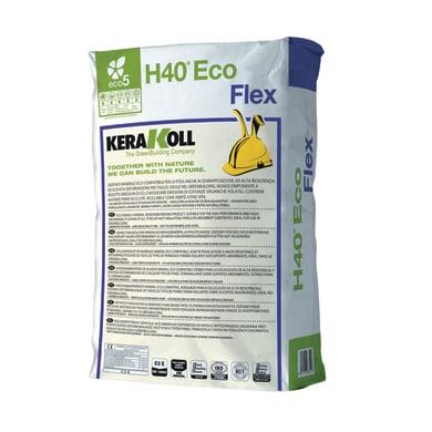 Colla in polvere H40 Flex KERAKOLL 25 kg bianco