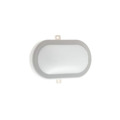 Plafoniera Extra LED integrato in policarbonato, bianco, 10W 700LM IP54