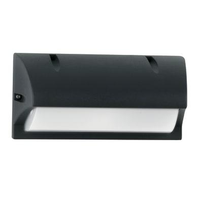 Applique per giardino ATLANTA-AP in alluminio, nero, E27 MAX42W IP54
