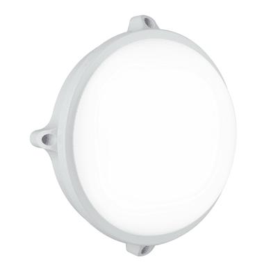 Plafoniera Ever LED integrato in policarbonato, bianco, 15W 1200LM IP54
