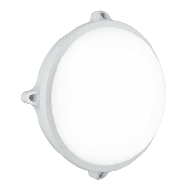 Plafoniera Ever LED integrato in policarbonato, bianco, 15W 1200LM IP65