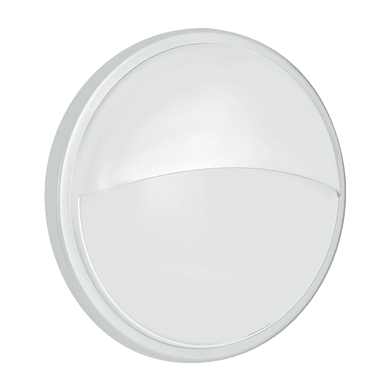 Plafoniera Ever LED integrato in policarbonato, antracite e bianco, 20W 1600LM IP65