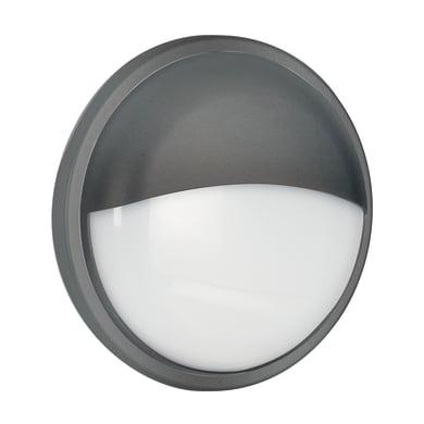 Plafoniera Ever LED integrato in policarbonato, nero, 20W 1600LM IP54