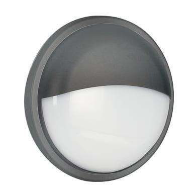 Plafoniera Ever LED integrato in policarbonato, nero, 30W 2300LM IP54