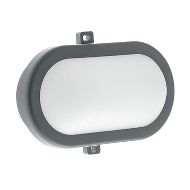 Plafoniera Extra LED integrato in alluminio, nero, 10W 700LM IP54