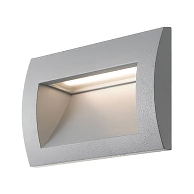 Faretto da incasso da esterno rettangolare LYKAN-RT LED integrato 3W 100LM 1 x IP54