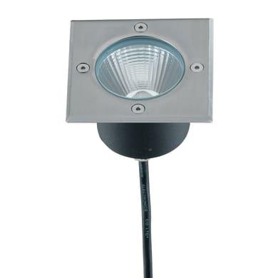 Faretto da incasso da esterno quadrato WALK-Q11 LED integrato 10 x 14 cm 10W 800LM 1 x IP67