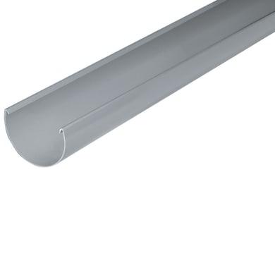 Canale di gronda grigio / argento L 2 m x H 95 mm