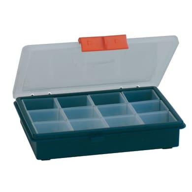 Ordinatore in plastica blu