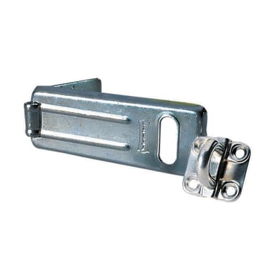 Supporto per lucchetto in acciaio cromato 110 x 46 mm
