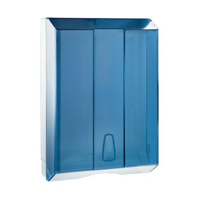 Distributore di carta in abs azzurro