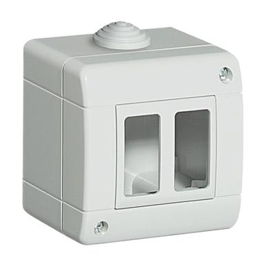 Scatola da parete componibile BTICINO Idrobox magic