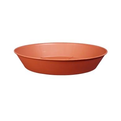 Sottovaso in plastica colore cotto Ø 20 cm