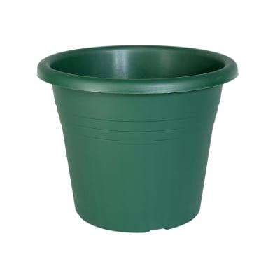 Vaso Isola in plastica colore verde H 20 cm, Ø 25 cm
