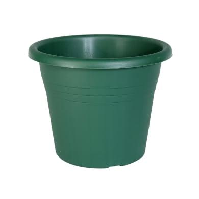 Vaso Isola in plastica colore verde H 23 cm, Ø 30 cm