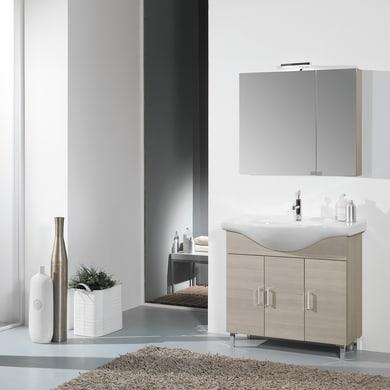 Mobile bagno Pisa larice L 81 cm