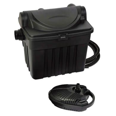 Filtro per laghetto kit uv-c 4000 25 W1500 l/h