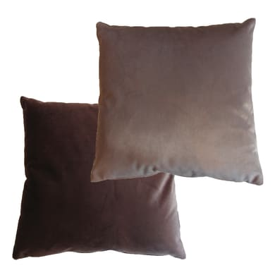 Cuscino Viki marrone 42x42 cm