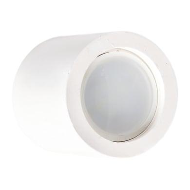 Faretto fisso da incasso tondo Ischia  in Gesso bianco, GU10 MAX40W IP20 INSPIRE