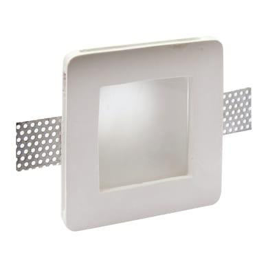 Faretto fisso da incasso quadrato Otranto  in Gesso bianco, 12xGU10 MAX40W IP20 INSPIRE