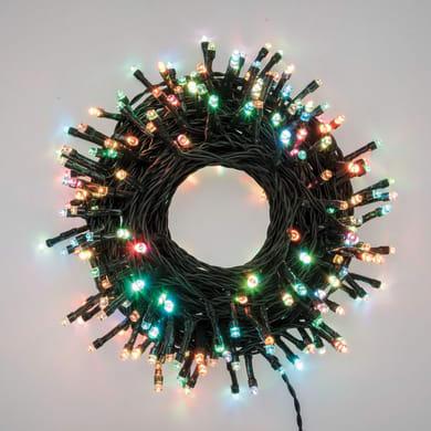 Catena luminosa 200 lampadine LED multicolore 2000 cm