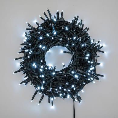 Catena luminosa 300 lampadine LED bianco freddo 1800 cm