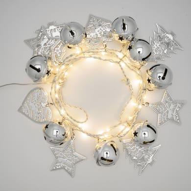 Catena luminosa bianco caldo 180 cm