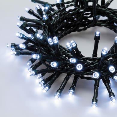 Catena luminosa 300 lampadine LED bianco freddo 1200 cm