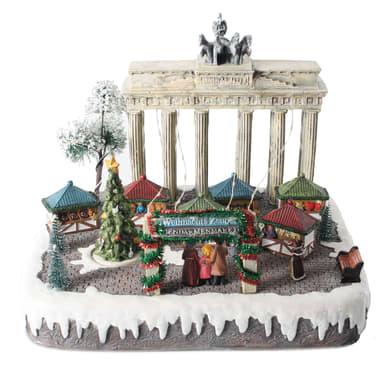 Villaggio di natale animato Berlino