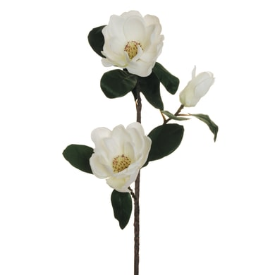 Fiore artificiale Magnolia H 86 cm