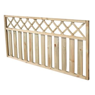 Recinzione 04-03-01. in legno L 180 x H 90 x P 4.5 cm